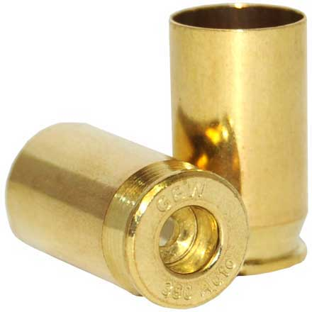 Factory NEW 380 Auto Unprimed Brass GBW Headstamp Bulk Breakdown 500 Count
