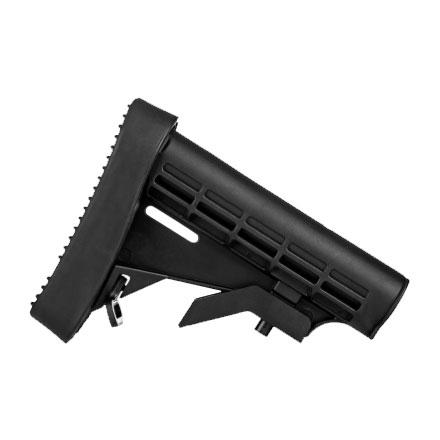 L-E Stock Black for AR-15