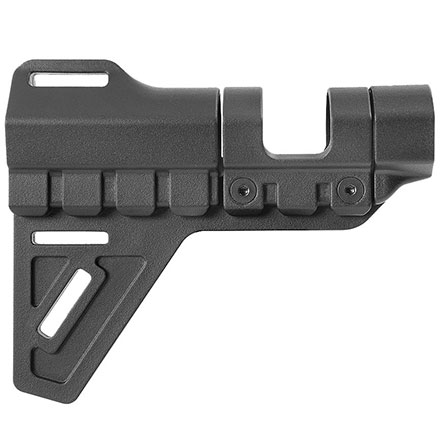 Breach Pistol Brace  for AR-15 Pistols Black