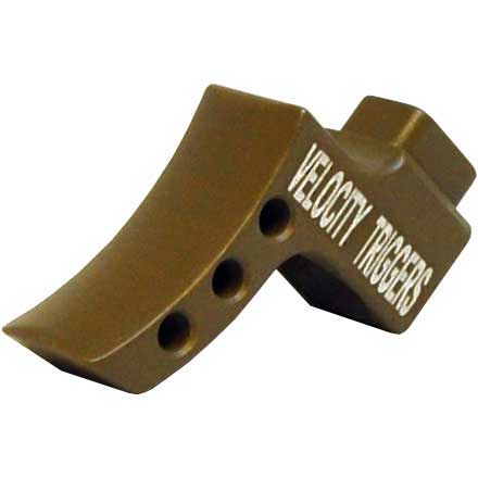 Curved Radius Flat Dark Earth Trigger Shoe for MPC Trigger