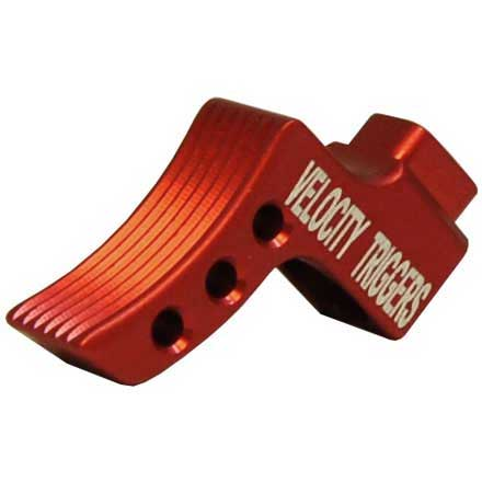 Curved Serration Red Trigger Shoe for MPC Trigger