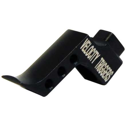 Straight Finger Stop Radius Black Trigger Shoe for MPC Trigger