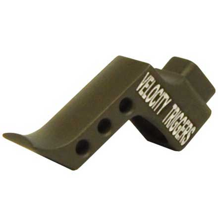 Straight Finger Stop Radius OD Green Trigger Shoe for MPC Trigger