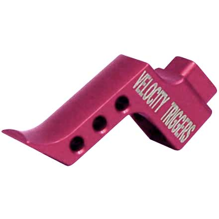 Straight Finger Stop Radius Pink Trigger Shoe for MPC Trigger