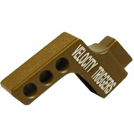Straight Serration Flat Dark Earth Trigger Shoe for MPC Trigger