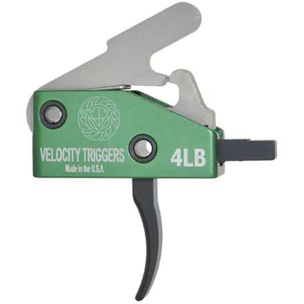 Velocity Triggers AR-15 Drop in Trigger Curved 4LB