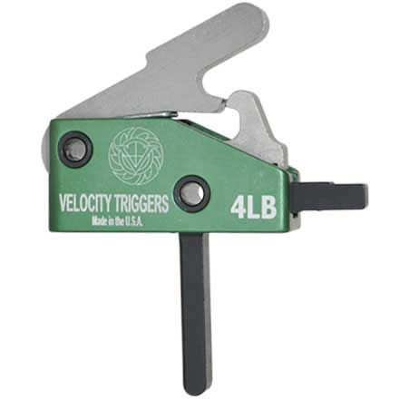 Velocity Triggers AR-15 Drop in Trigger Straight 4LB