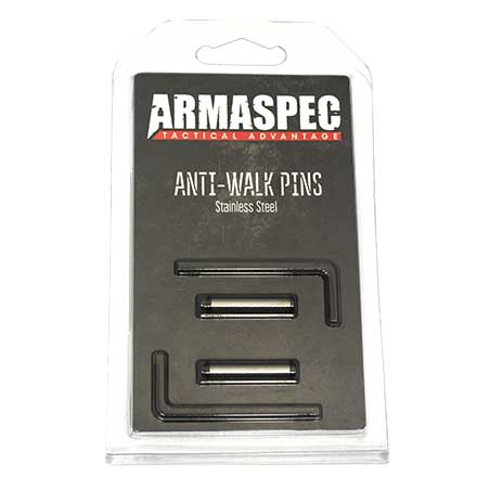 Anti-Walk Trigger/Hammer Pins with Keys Stainless Steel