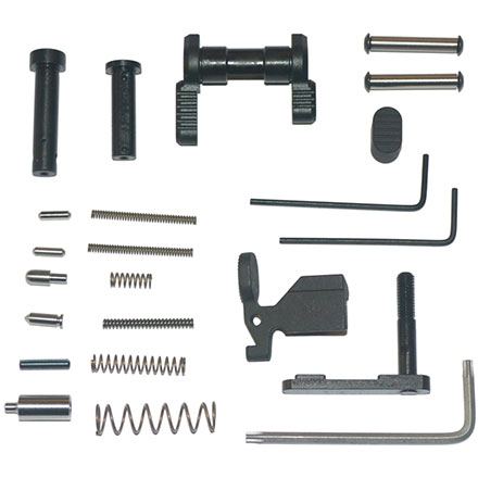 Gun Builders Stainless Lower Parts Kit .223/5.56 Black