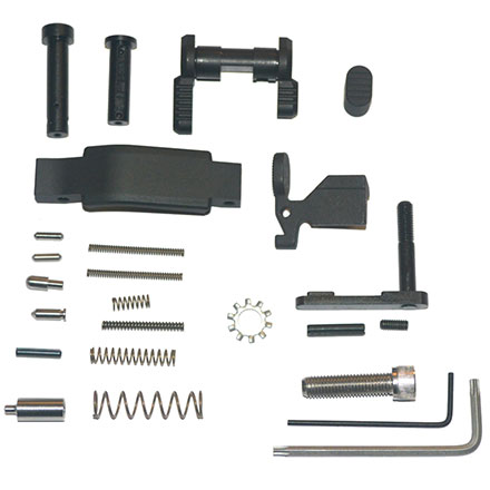 Lower Parts Kit Stainless LPK .223/5.56 Black