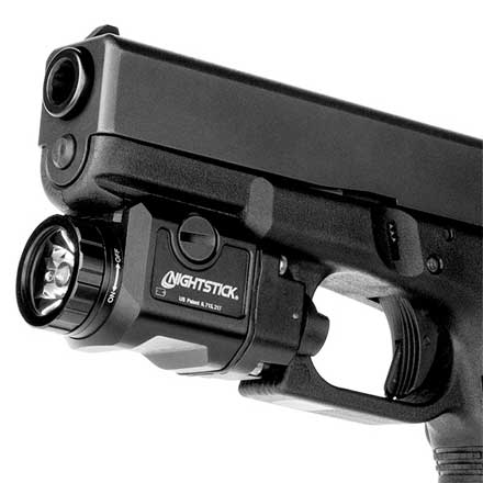 Xtreme Lumens Compact Weapon Mounted Metal Light With Strobe 550 Lumens