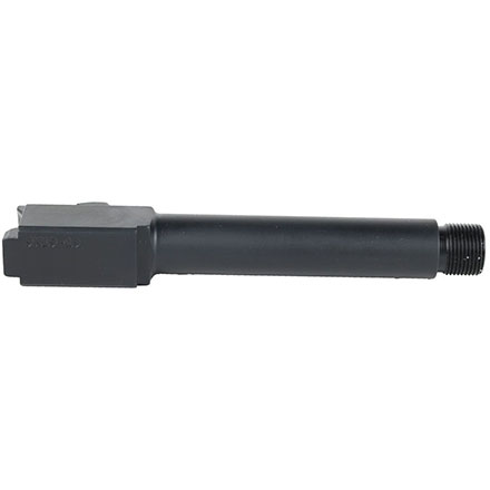 9mm Glock 19 Replacement Barrel Threaded Black Nitride Finish