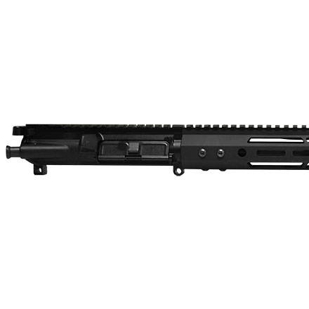 "BCA 18"" Parkerized Fluted Heavy Barrel 6.5 Grendel 1:8 Twist 15"" M-LOK Complete AR15 Upper Assembly"