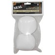 "Seal 1  3"" 12-16 Gauge Cotton Cleaning Patches (100 Per Bag)"