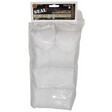 "Seal 1 3"" 12-16 Gauge Cotton Cleaning Patches (1000 Per Bag)"
