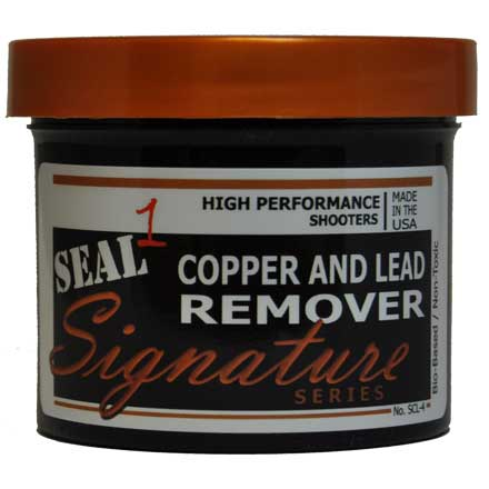 Seal 1 Signature Series Copper and Lead Remover Paste 4oz jar