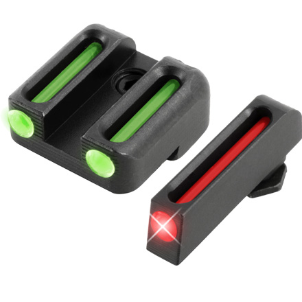 Truglo Fiber Optic Pistol Sight Set Glock 42 , 43