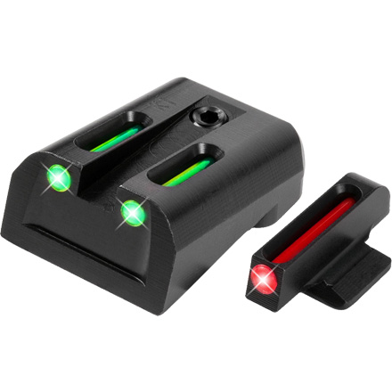 Truglo Fiber Optic Pistol Sight Set Kimber