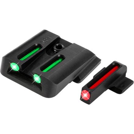 Truglo Fiber Optic Pistol Sight Set S&W M&P