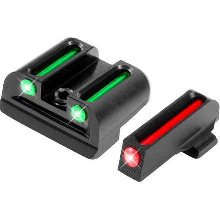 Truglo Fiber Optic Pistol Sight Set Sig #8 and #8