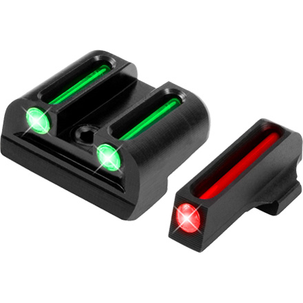 Truglo Fiber Optic Pistol Sight Set Sig #6 and #8