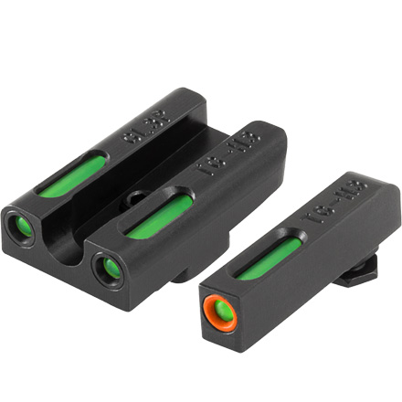 TFX Pro Tritium Fiber-Optic Day Night Pistol Sights Glock 42, 43