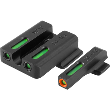 TFX Pro Tritium Fiber-Optic Day Night Pistol Sights S&W  M&P