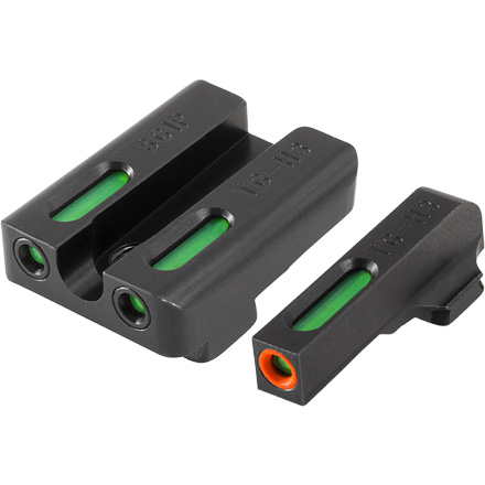 TFX Pro Tritium Fiber-Optic Day Night Pistol Sights Sig #6 & #8 Set