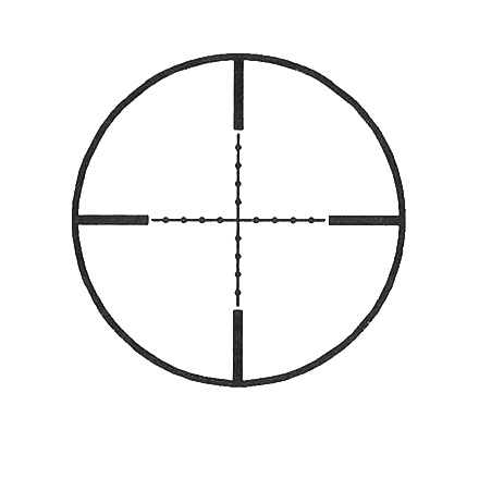 TruGlo 30mm TruBright 1-4 x 24mm Duplex Mildot Reticle With Offset Monolithic Mount