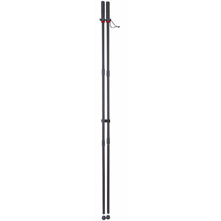 Standing Shooting Sticks Black Aluminum