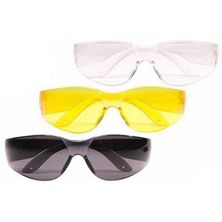 Eye Protection (Clear, Yellow, Black) 3 Pack