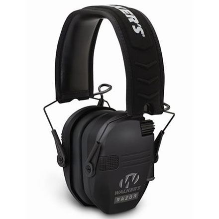 Walker's Razor Slim Low Profile Electronic Earmuffs NRR 23