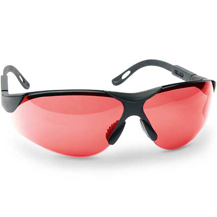 Elite Shooting Glasses Vermillion