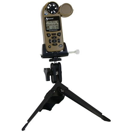 Portable Tripod with Clamp Black for Kestrel Meters