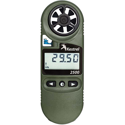 Kestrel 2500NV Weather Meter Digital Altimeter +Night Vision Backlight Olive Drab
