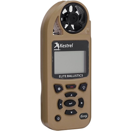 Kestrel 5700 Elite Weather Meter with Applied Ballistics with LINK Desert Tan