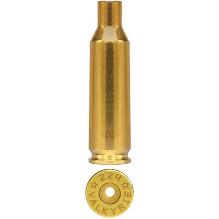 Starline Unprimed Rifle Brass 224 Valkyrie 500 Count