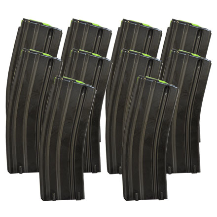 AR-15  30 Round Steel 5.56 Magazine 10 Pack