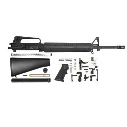 AR-15 M16A2 Style Rifle Kit 20 inch With Complete Carry Handle A2 Upper,  LPK and A2 Style Stock