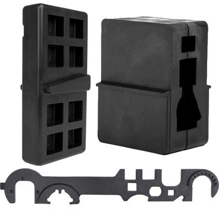 AR 15 Gunsmith Builder Set (Upper and Lower Vise Block and AR-15 Wrench)
