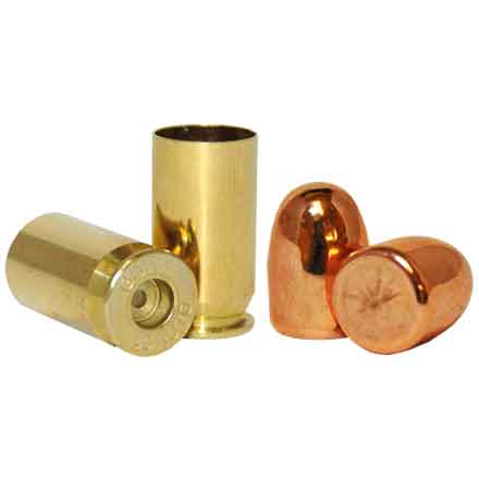 45 Auto Loader Pack .452 Dia 230 Grain Plated Bullets With Brass(500 RN Bullets & 250 45 Auto Brass)