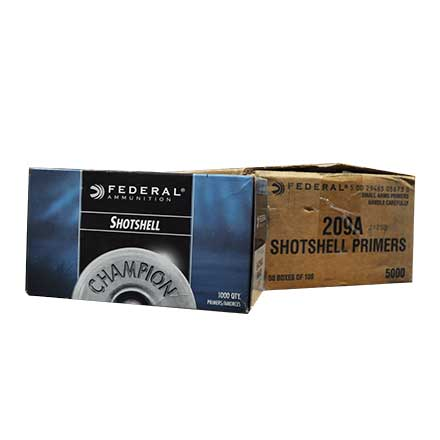 Federal 209A Shotshell Primer (5000 Count Case)
