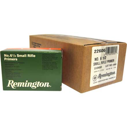 6 1/2 Small Rifle Primer 5000 Count Case