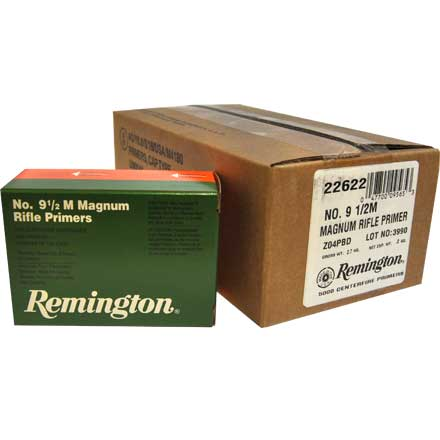 9 1/2 Magnum Large Rifle Primer 5000 Count Case