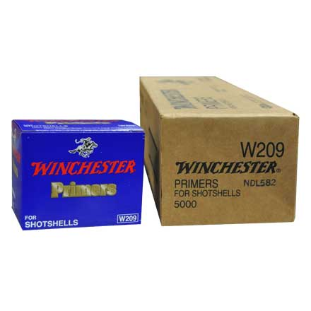 Winchester Shot Shell Primers 5000 Count Case