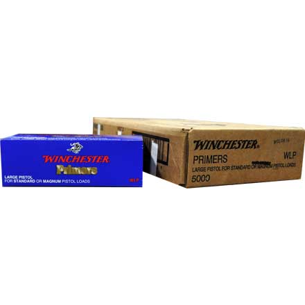 Winchester Large Pistol Primers 5000 Count Case