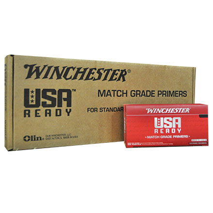 Winchester USA Ready Match Large Pistol Primers 5000 Count Case