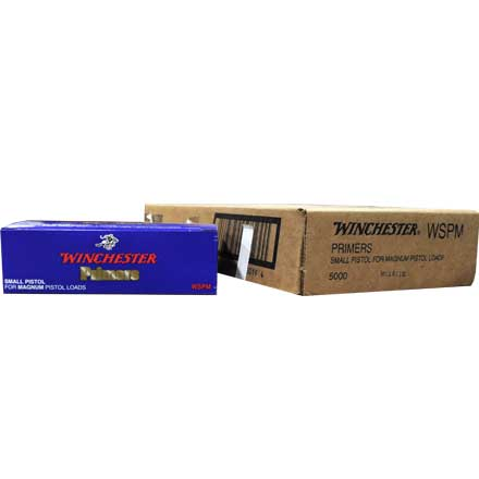 Winchester Small Pistol Magnum Primers 5000 Count Case