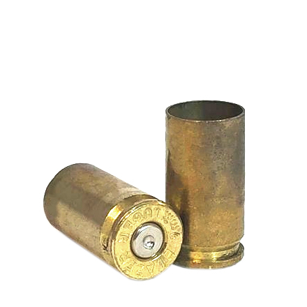 9mm Once Fired Range Brass Raw Approximately 500 Pieces