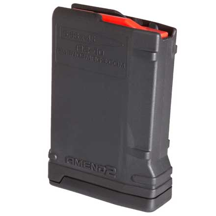 Amend2 Ar-15 Mod-2 Black  Magazine 10 Rounds